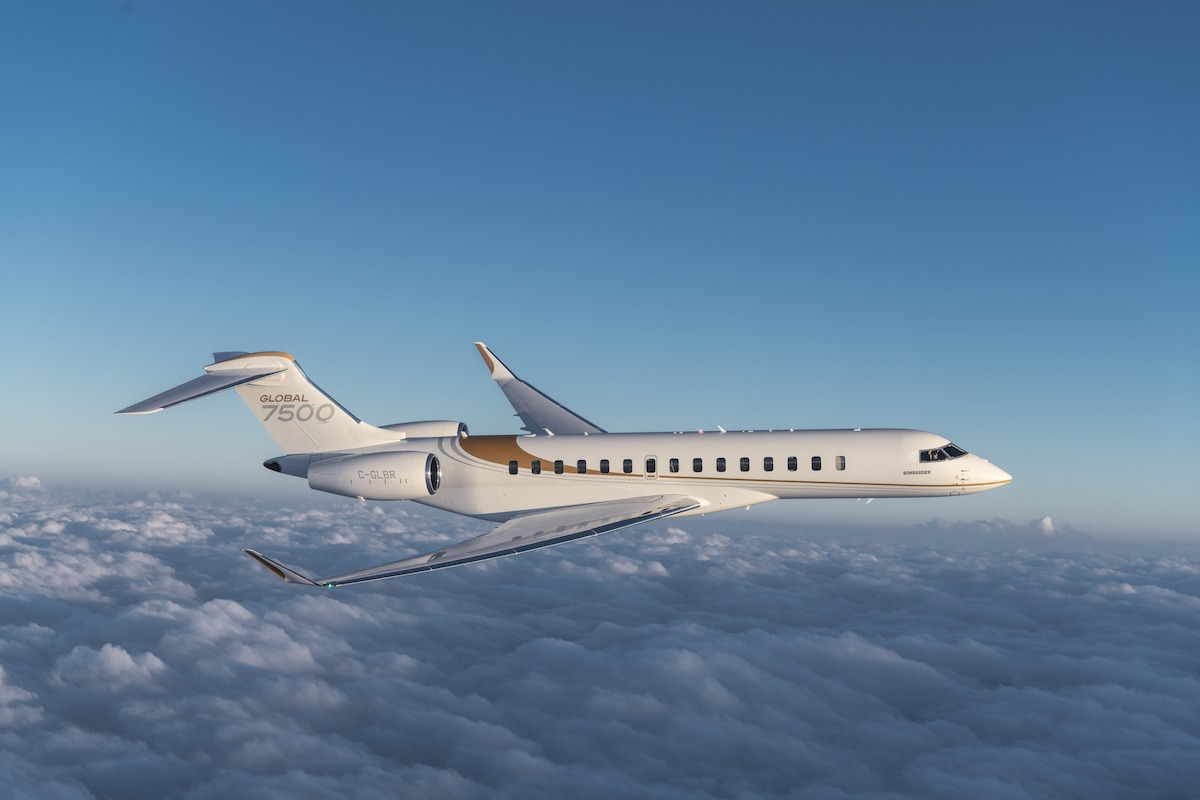 Bombardier Global 7500 Exterior