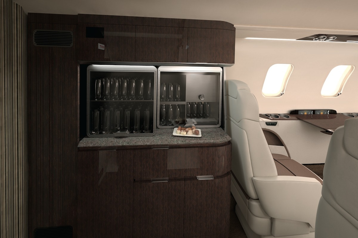 Bombardier Learjet 70 Interior