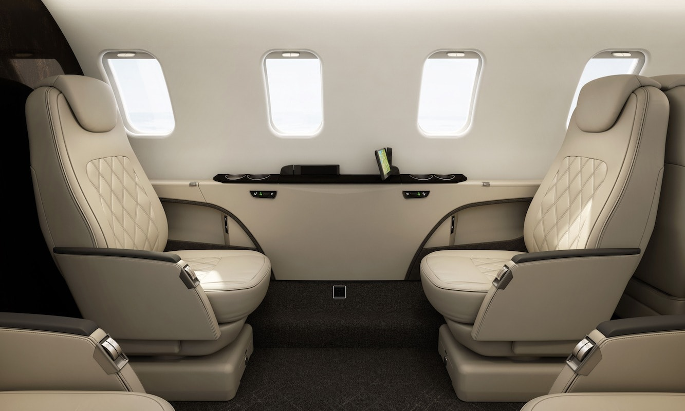 Bombardier Learjet 75 Interior