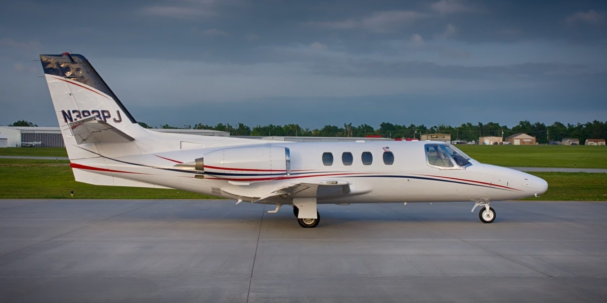 Cessna Citation I Exterior