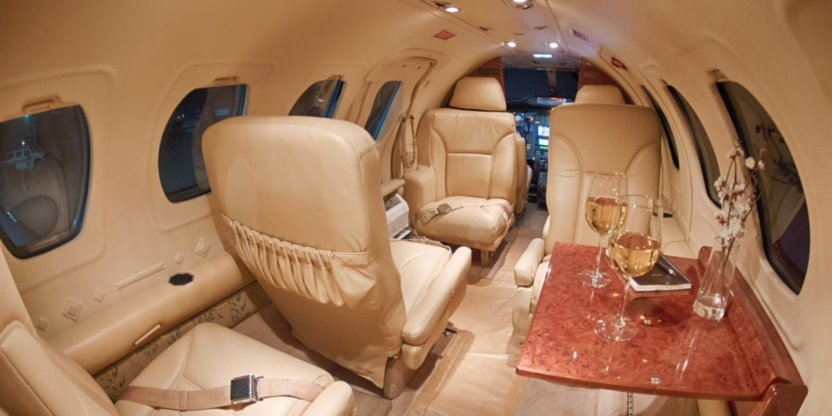 Cessna Citation I Interior