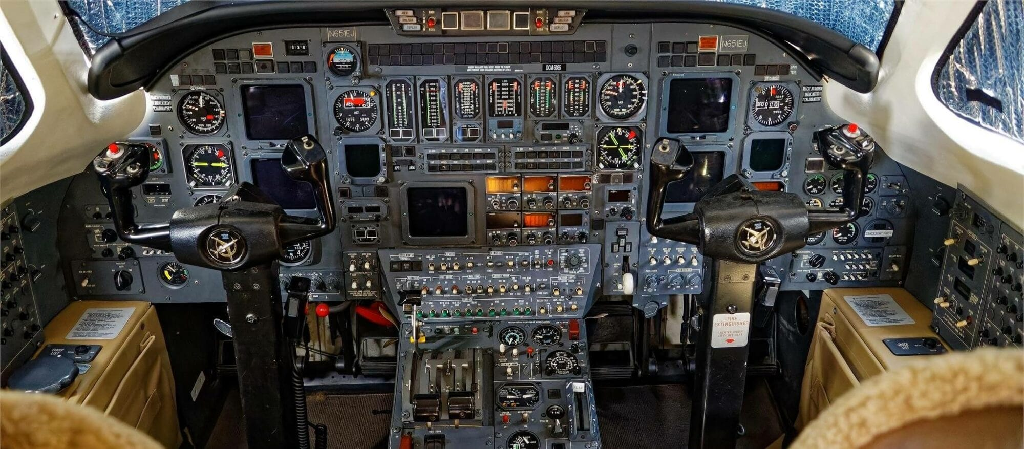 Cessna Citation VI Cockpit