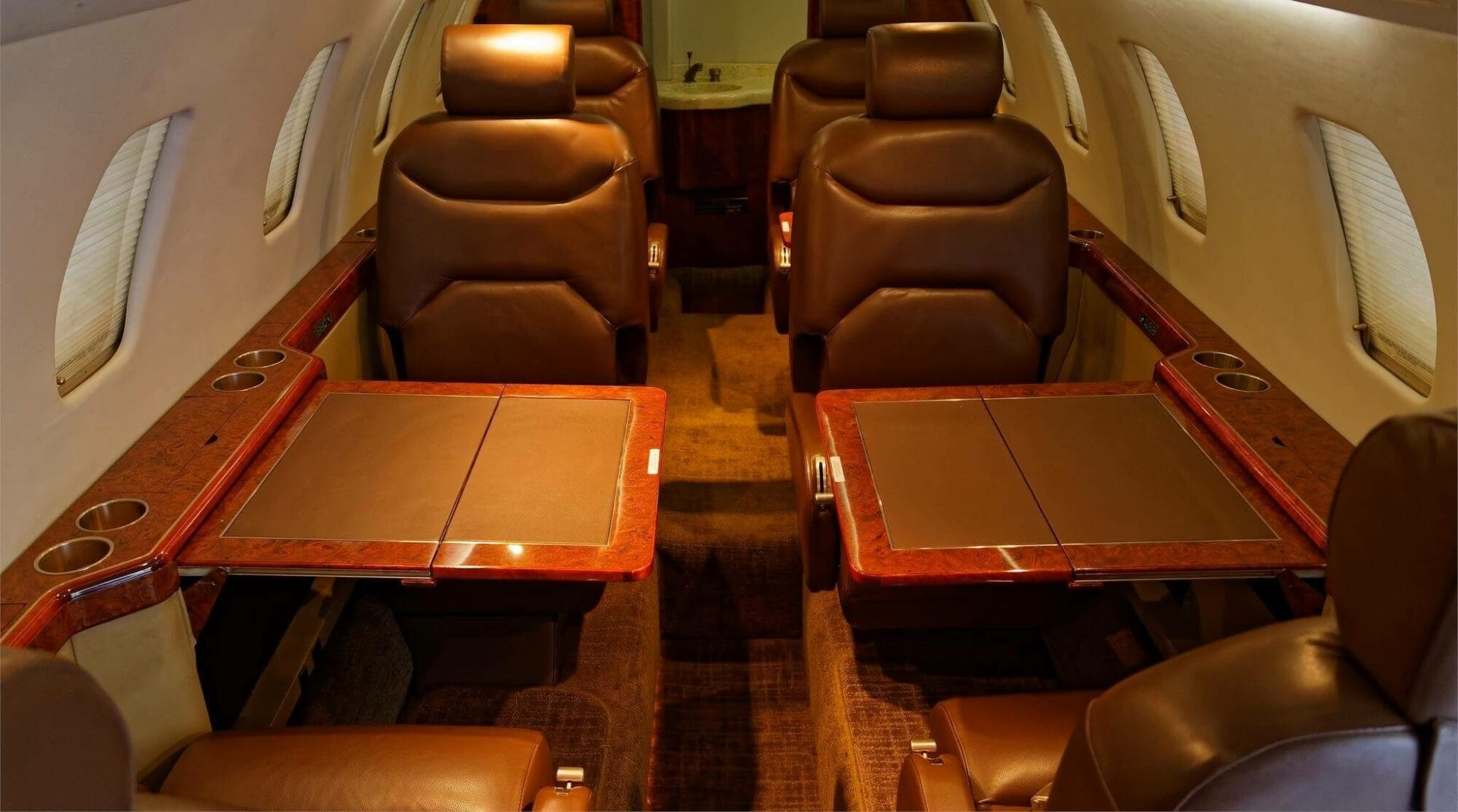 Cessna Citation VI Interior
