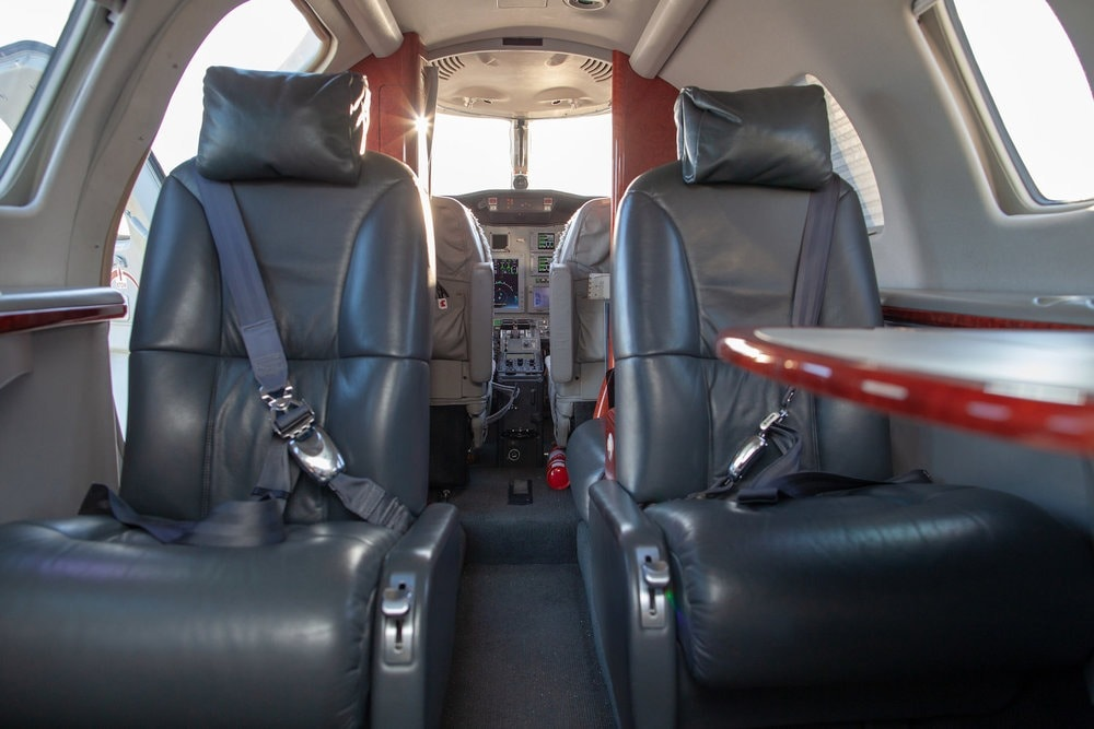 Cessna Citation CJ1 Plus Interior