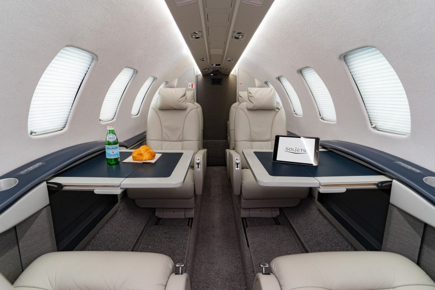 Cessna Citation CJ2 Plus Interior
