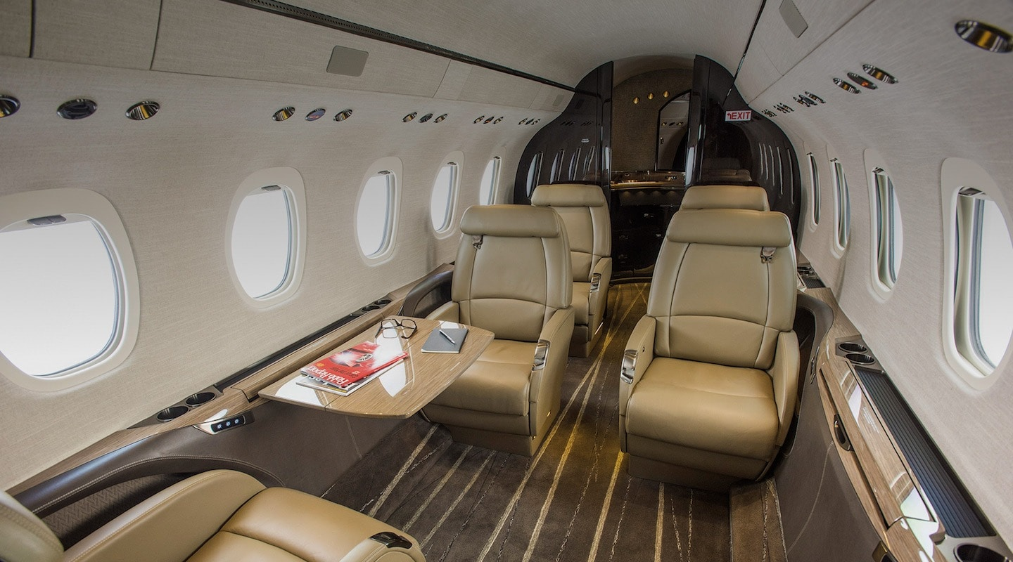 Cessna Citation Latitude Interior