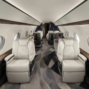Private Jet Interior - Take a Look Inside